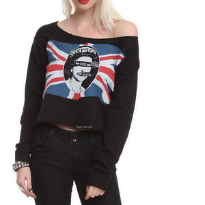 Sex Pistols Pullover Top God Save The Queen M L